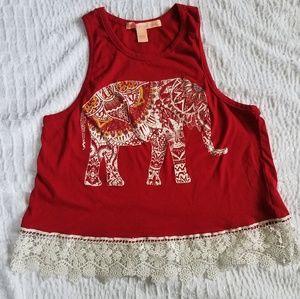 Cute elephant tank